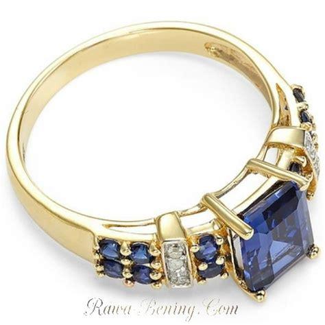 Cincin Wanita Zircon Gold Size 6 Chagne Gold 1 cincin wanita model blue sapphire kotak ring size 6 usa
