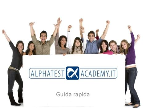 alpha test academy presentazione alpha test academy