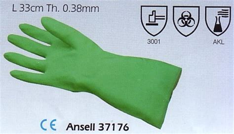 Sarung Tangan Ansell jual chemical protection gloves sarung tangan 37176 ansell