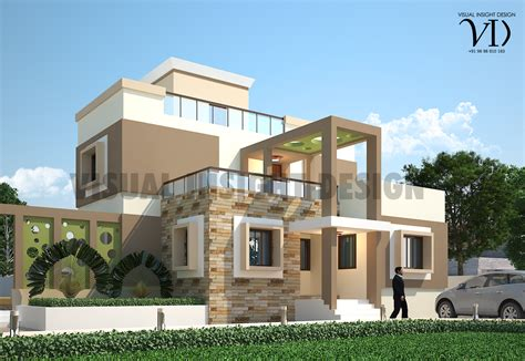 indian house outlook design modern house