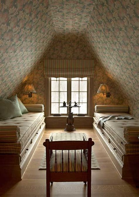 attic bedroom beds twin beds pinterest
