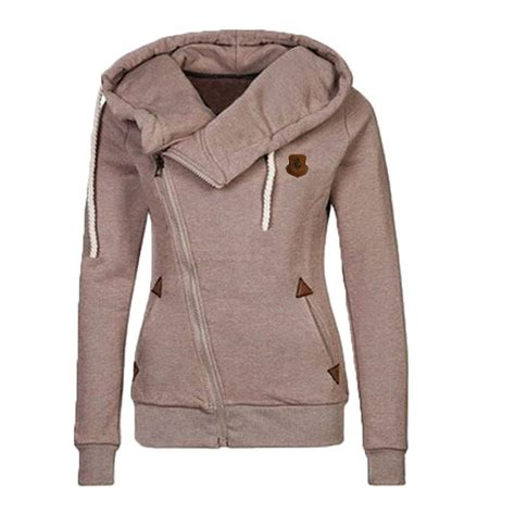 Hoodie Sweater sweater hooded side zip pullover sweatshirt tops