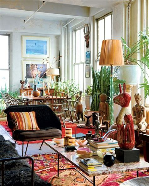 bohemian interior ethnic touches