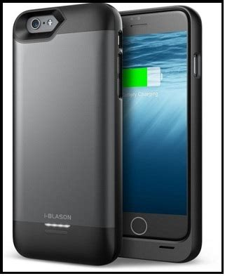 best iphone 6s plus battery cases for 2018: chargeable cases