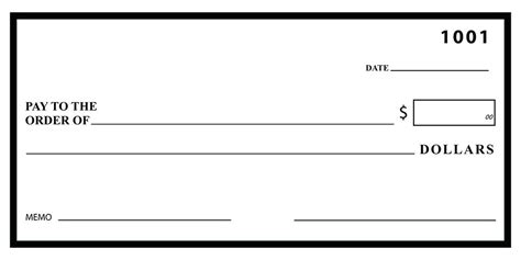 Fake Check Template For Presentation Cheque Big Checks Free Meicys Co Large Check Template