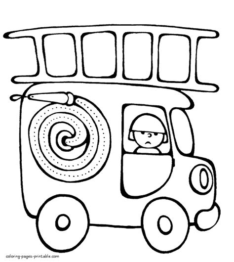 40 free printable truck coloring pages download http fire truck coloring sheet