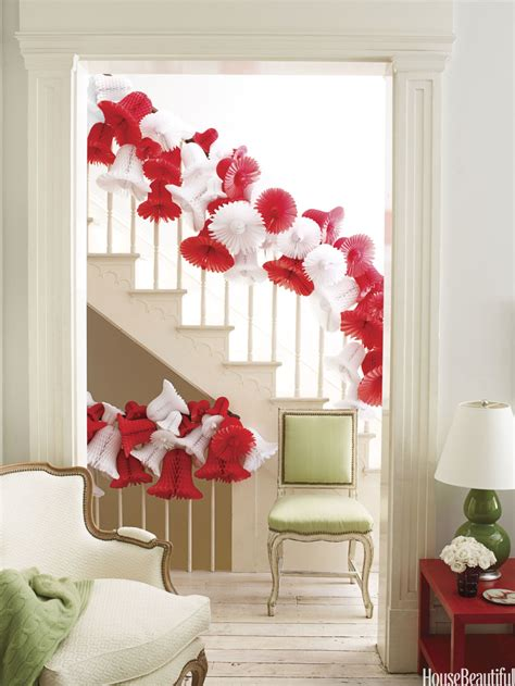 decoration for a banister 40 gorgeous christmas banister decorating ideas