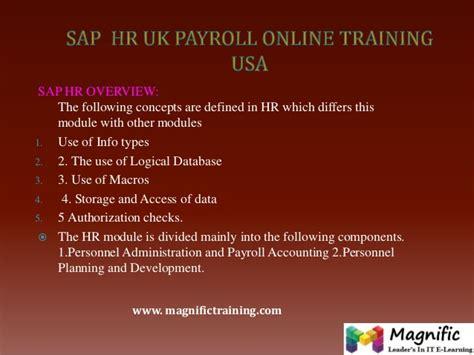 online tutorial in usa sap uk payroll online training in usa