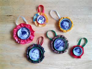 no 6 craft for christmas bottle cap photo frame ornaments
