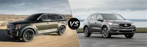 Acura Mdx 2019 Vs 2020 by 2020 Kia Telluride Vs Acura Mdx Friendly Kia