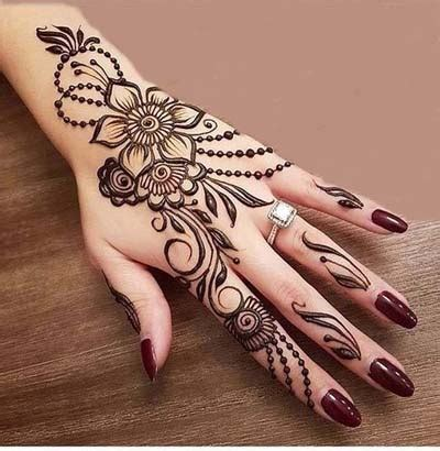 arabic mehndi designs 2018 5 – shadibox