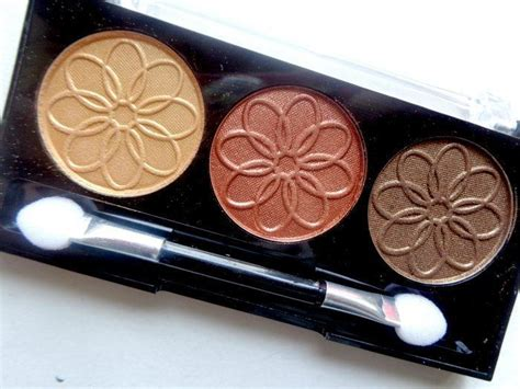 la color cosmetics l a colors ces445 sunflower 3 color eyeshadow review