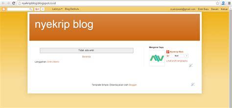 tutorial membuat blogspot lengkap pdf cara membuat blog di blogspot lengkap gambar nyekrip