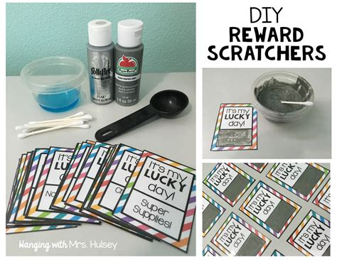 diy scratch cards template monthly diy scratch reward cards hanging with mrs hulsey