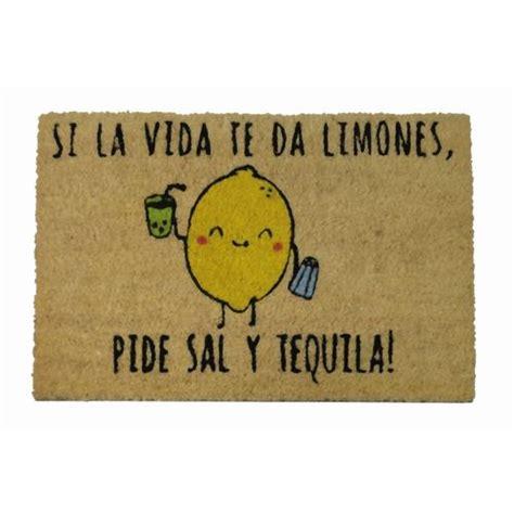 felpudo dantzaris felpudos originales felpudo lim 243 n y tequila tatamba