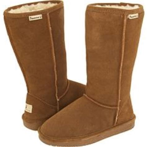 cheap paw boots 67 bearpaw shoes fuzzy brown bearpaws from caprice