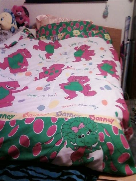 barney bedding set barney the dinosaur bed sheets