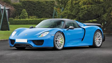 custom porsche 918 porsche 918 spyder blue incredible looking baby blue