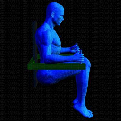 exercice de la chaise abdo court 224 la chaise romaine technique et d綵 d