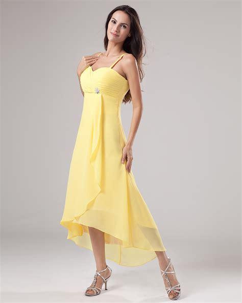Ylw Dress yellow bridesmaid dresses dressed up