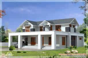 kerala sloped roof home design nice sloped roof kerala home design indian house plans