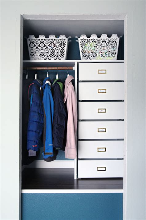 Coat Closet Storage Iheart Organizing Tip Tuesday Gift Wrap Drawer Liners