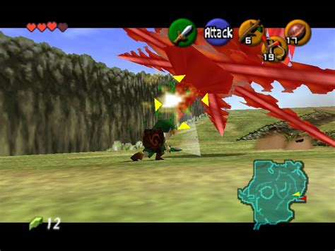 emuparadise ocarina of time rom screenshot thumbnail media file 6 for legend of zelda