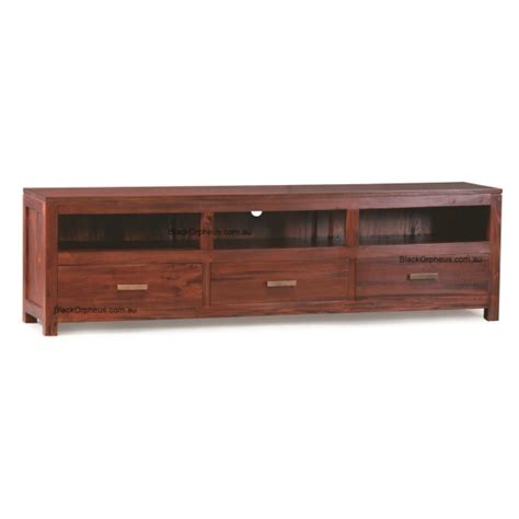tv unit 3 drawer width 190cm