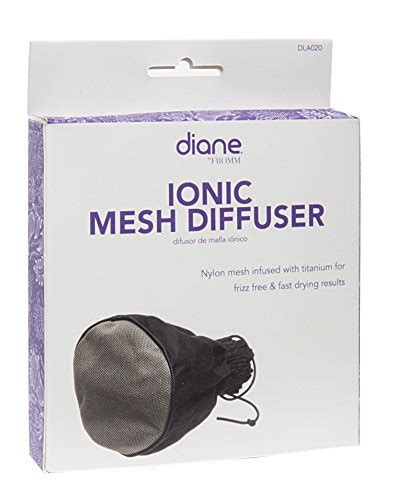 Hair Dryer Diffuser Fits All ionic mesh diffuser fits most hairdryer