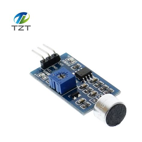 Arduino Sound Detection Module wholesale 1pcs sound detection sensor module sound sensor intelligent vehicle for arduino in