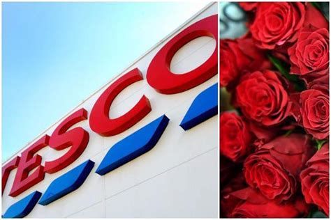 tesco valentines roses tesco ireland claims two more stores called