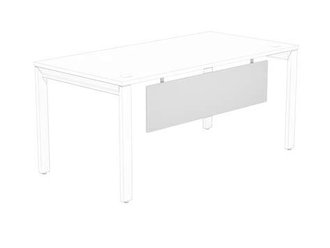 modesty panel for desk switch desk modesty panel in white