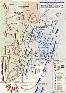 fredericksburg civil war map