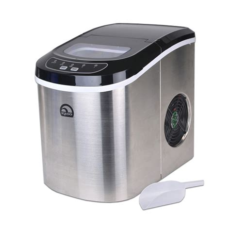 design of educational ice maker unit igloo stainless steel portable countertop ice maker w ice