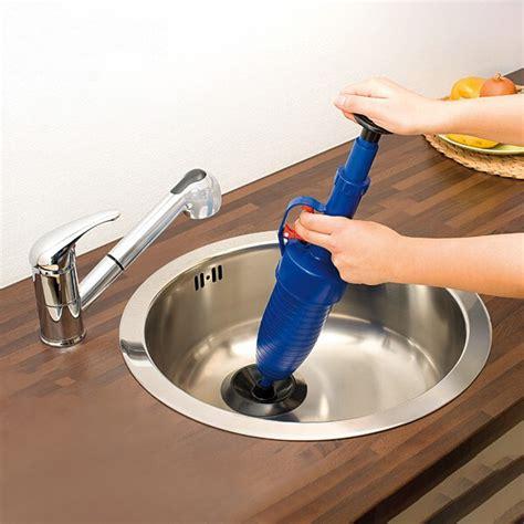home high pressure air drain blaster pump plunger sink