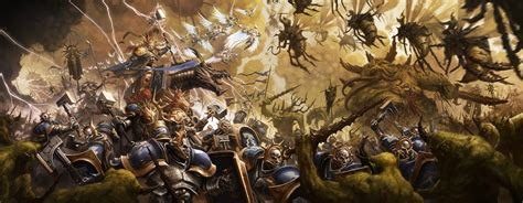 Kaos Bloody Hammers stormcast vs nurgle by bmacsmith on deviantart