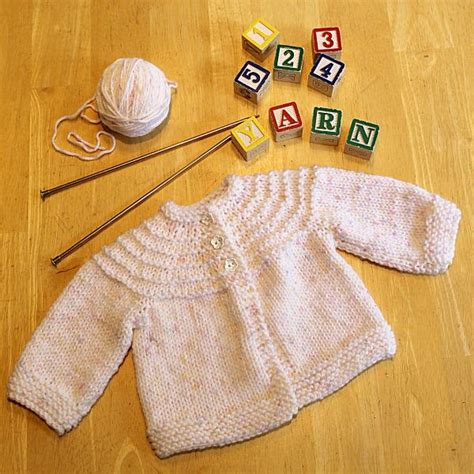 knitting baby sweater for beginners 5 hour knit baby sweater allfreeknitting