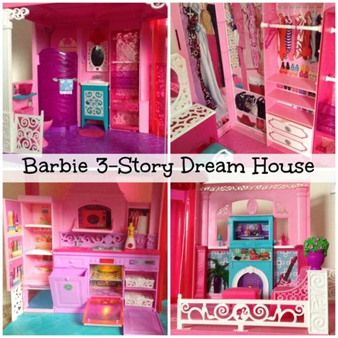 how much is a barbie doll house barbie 3 story dream dollhouse
