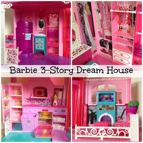 Barbie 3 Story Dream Dollhouse