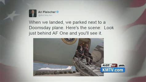 ari fleischer s 9 11 tweets mention president s brief