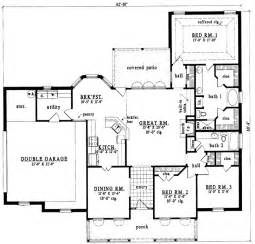 1700 Square Foot House Plans House Plans 1700 To 1900 Square Feet