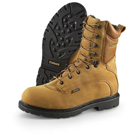 carhartt mens work boots s 8 quot 3907 carhartt 174 waterproof work boots 209267