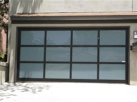 Glass Overhead Door Glass Garage Doors
