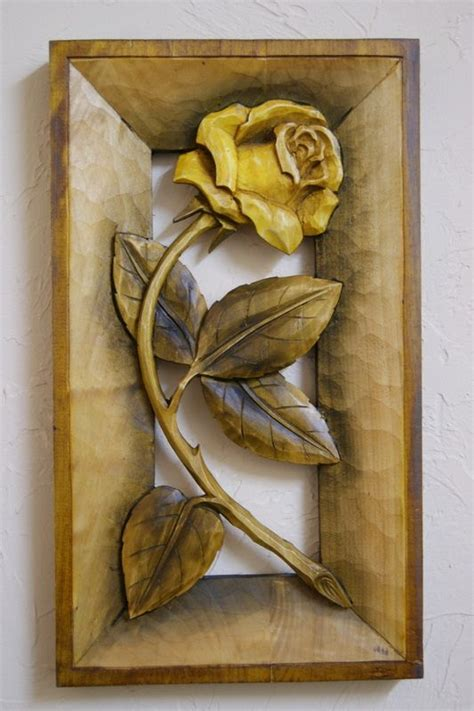 carved flowers images  pinterest carving wood