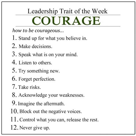 movie quotes on leadership courageous leadership quotes quotesgram