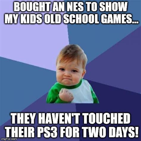 Old School Meme - old school games memes