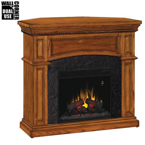 Corner Fireplace With Mantel by Classic Nantucket Dual Corner Wall Electric