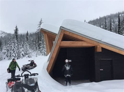 The Warming Hut by New Warming Hut Open On The Idaho Panhandle National