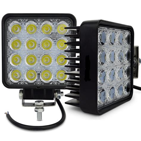 12 x 48 led light 2x 4inch car 48w led work light 12v led tractor work