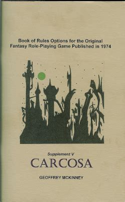 supplement v carcosa carcosa available in 1st and expurgated editions